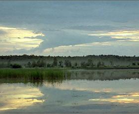 Рассвет на можайском море