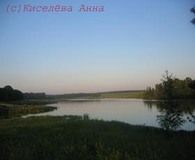 Пруд в Серебряно-Прудском районе